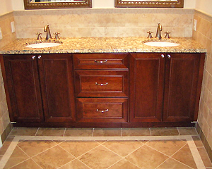 Vanities For Bathroom Nj custom bathroom vanities & cabinets | nj & ny | t&m kitchens
