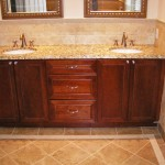 New Bathroom Counters